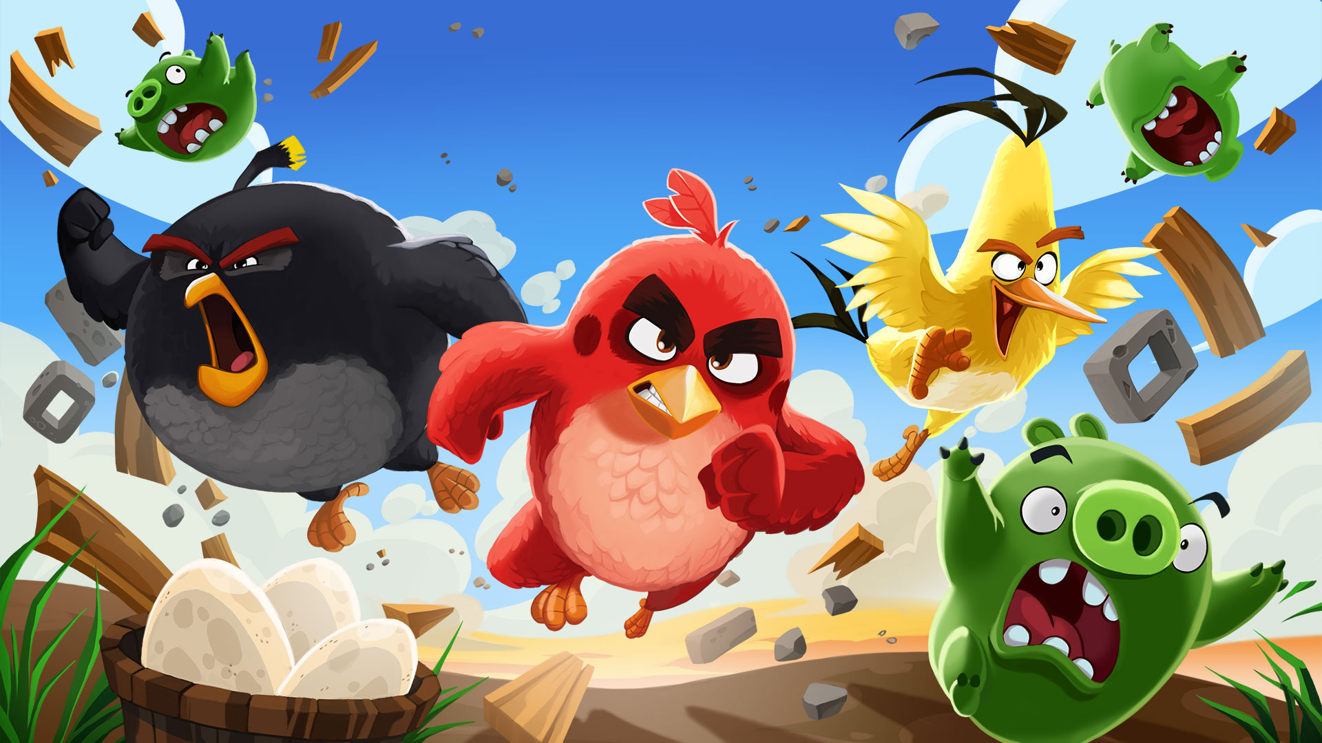 Images of Angry Birds | 1920x1080