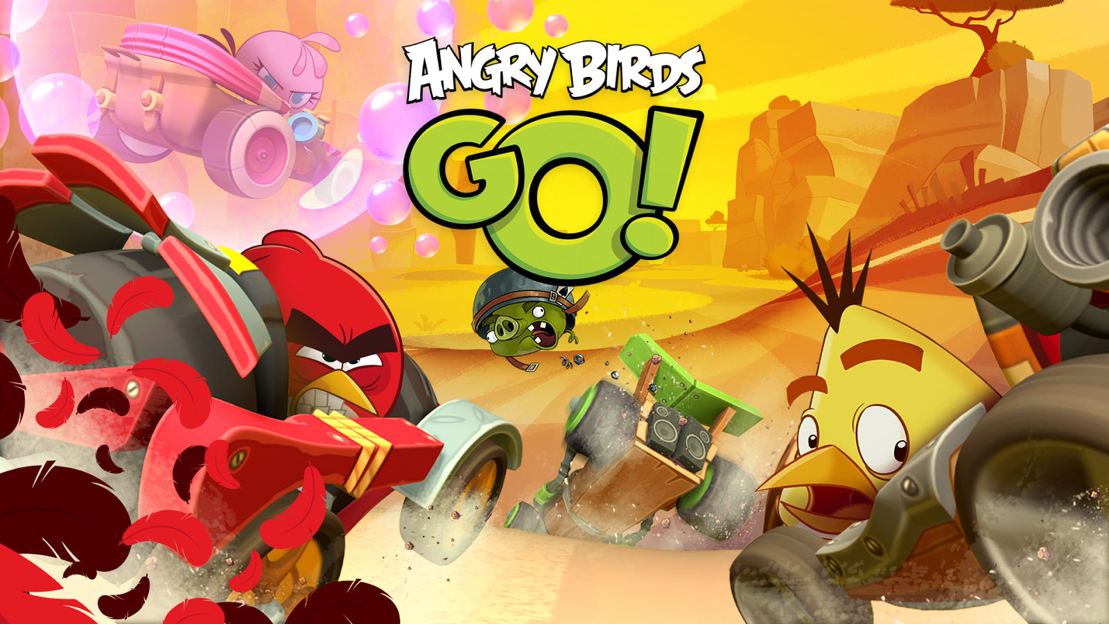 High Resolution Wallpaper | Angry Birds 1600x900 px
