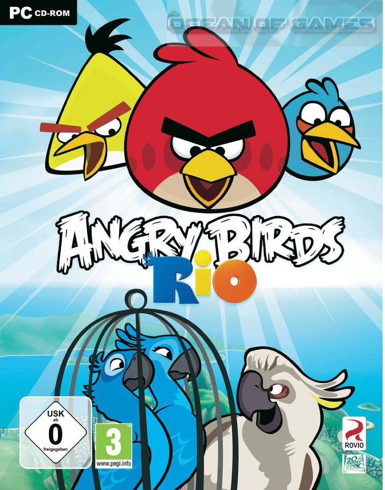 Angry Birds Rio Wallpapers Video Game Hq Angry Birds Rio Pictures 4k Wallpapers 2019