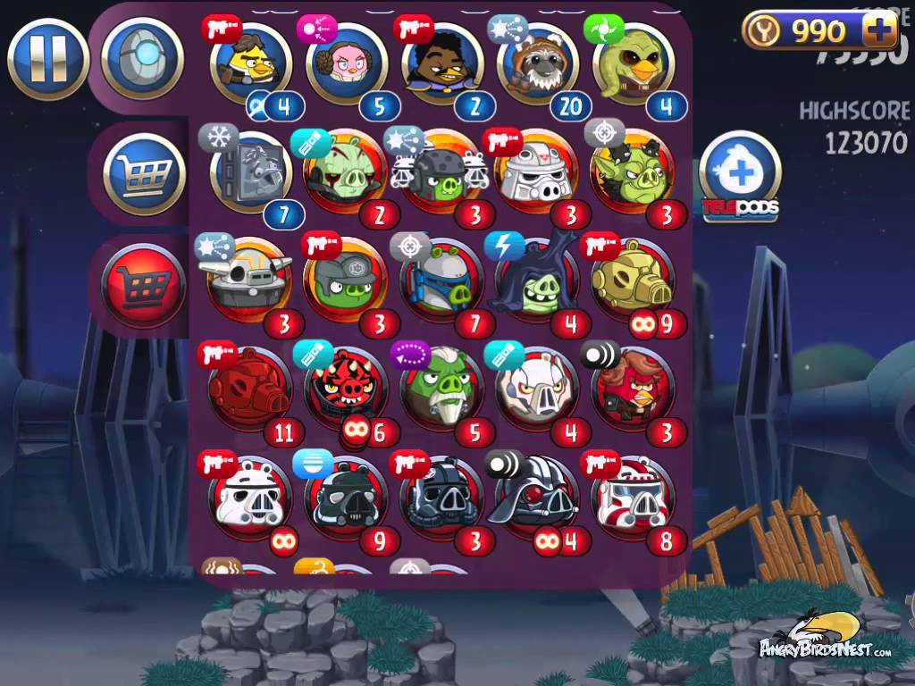 Angry Birds Star Wars 2 Wallpapers Video Game Hq Angry Birds