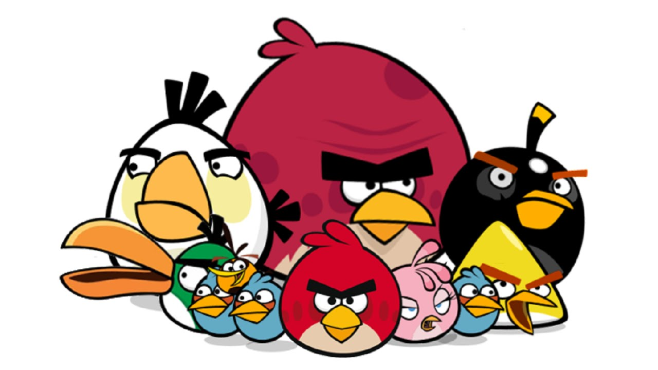 Nice wallpapers Angry Birds 1280x720px