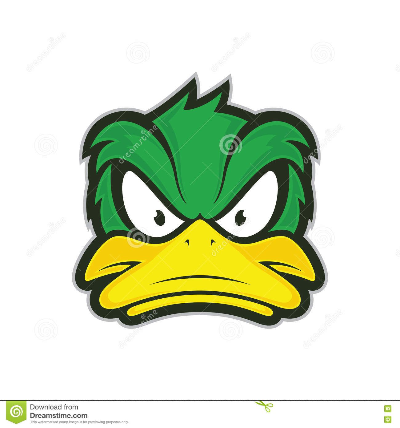 Nice wallpapers Angry Duck 1300x1390px