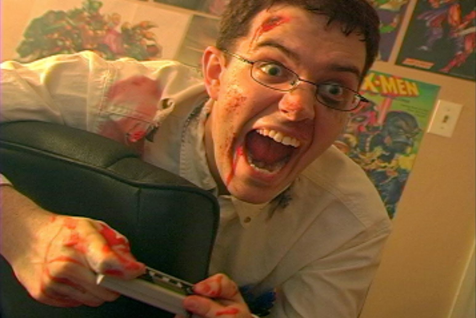 Angry Video Game Nerd Pics, Humor Collection