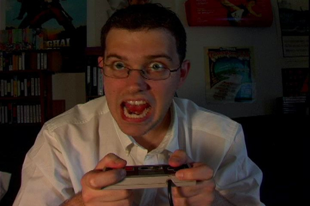 HD Quality Wallpaper | Collection: Humor, 640x426 Angry Video Game Nerd