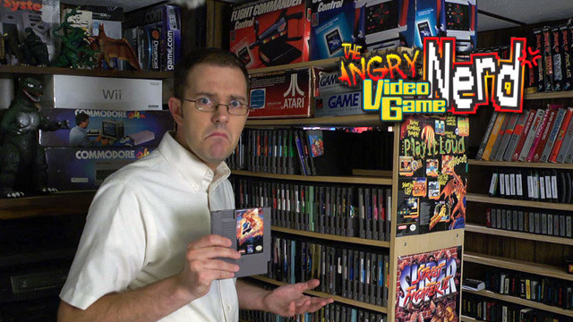 HD Quality Wallpaper | Collection: Humor, 640x360 Angry Video Game Nerd