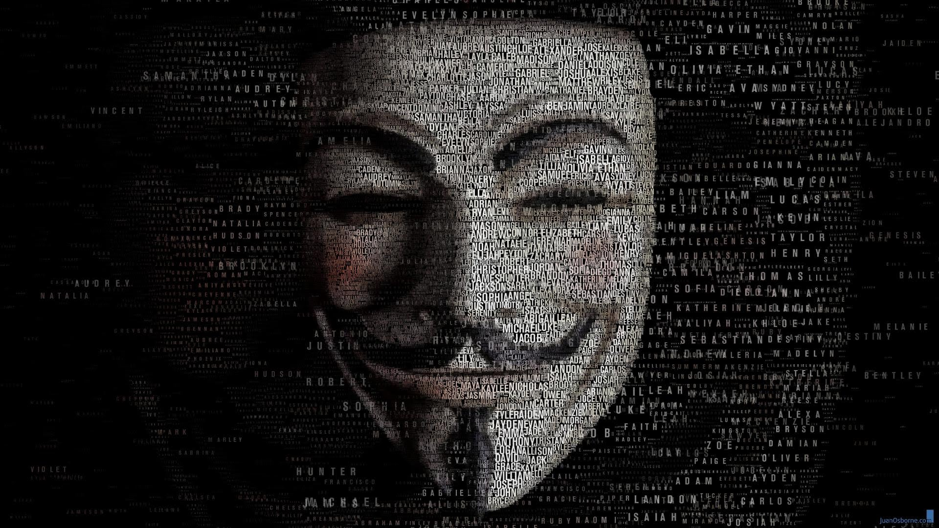 Nice Images Collection: Anonymous Desktop Wallpapers