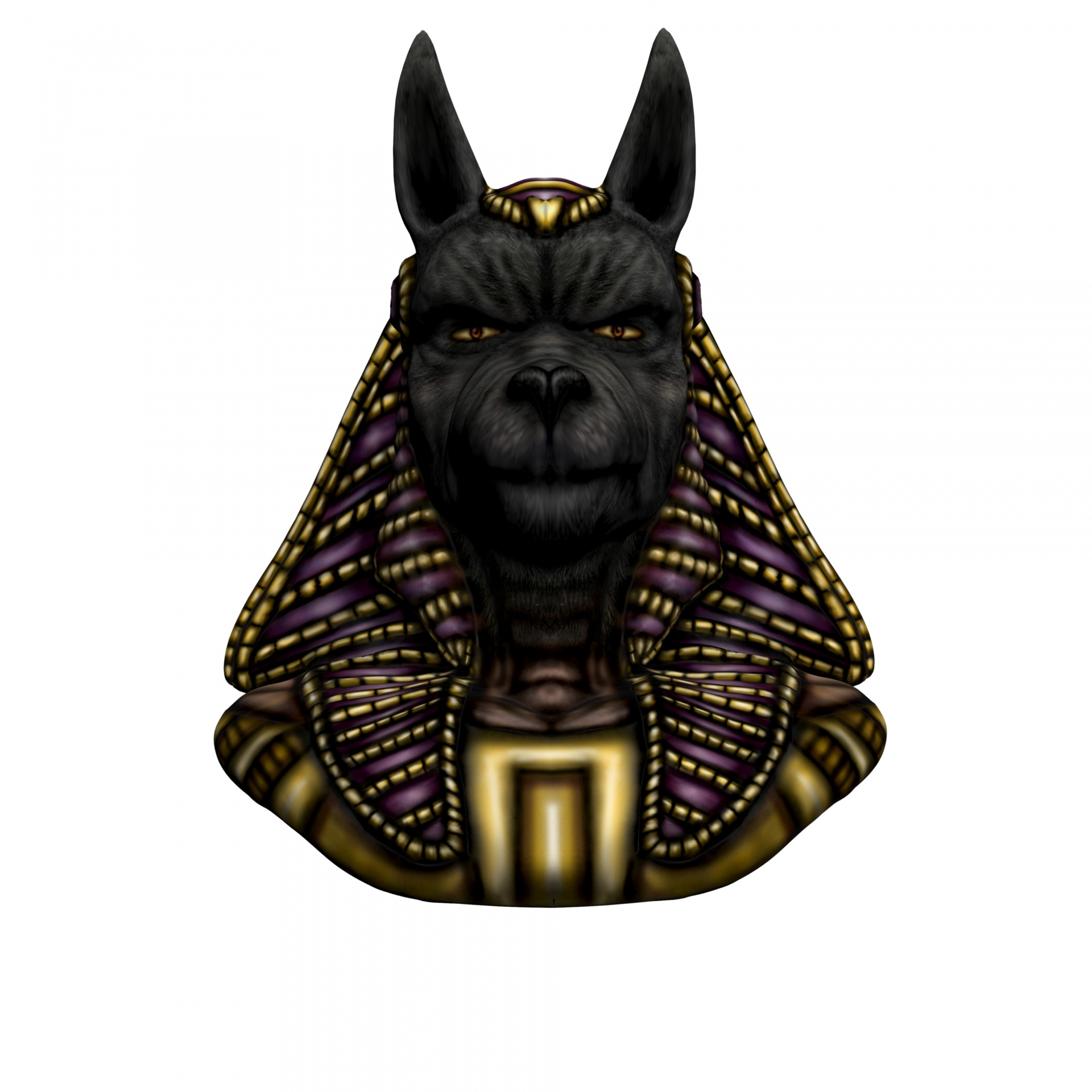HD Quality Wallpaper | Collection: Fantasy, 1920x1920 Anubis