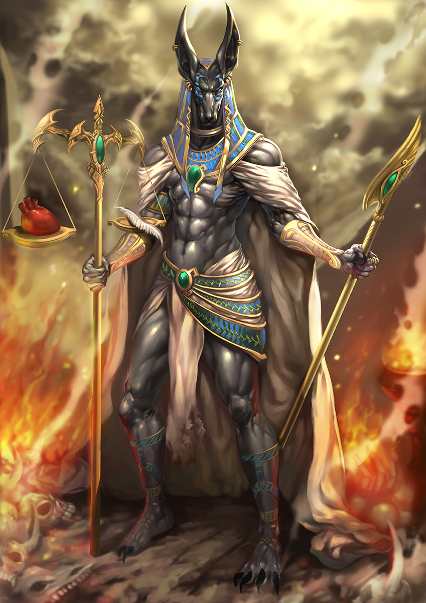 849x1200 > Anubis Wallpapers