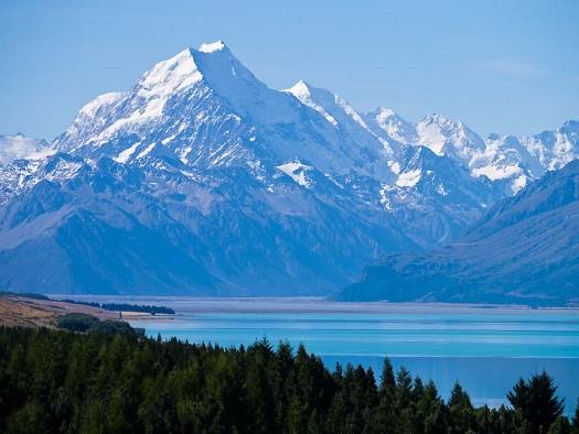 High Resolution Wallpaper   Aoraki Mount Cook 525x394 px