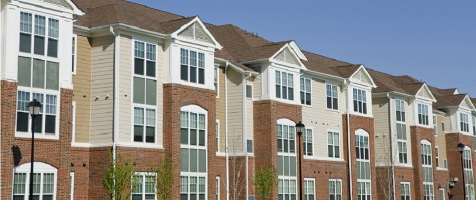 HD Quality Wallpaper | Collection: Artistic, 950x400 Apartment Complex