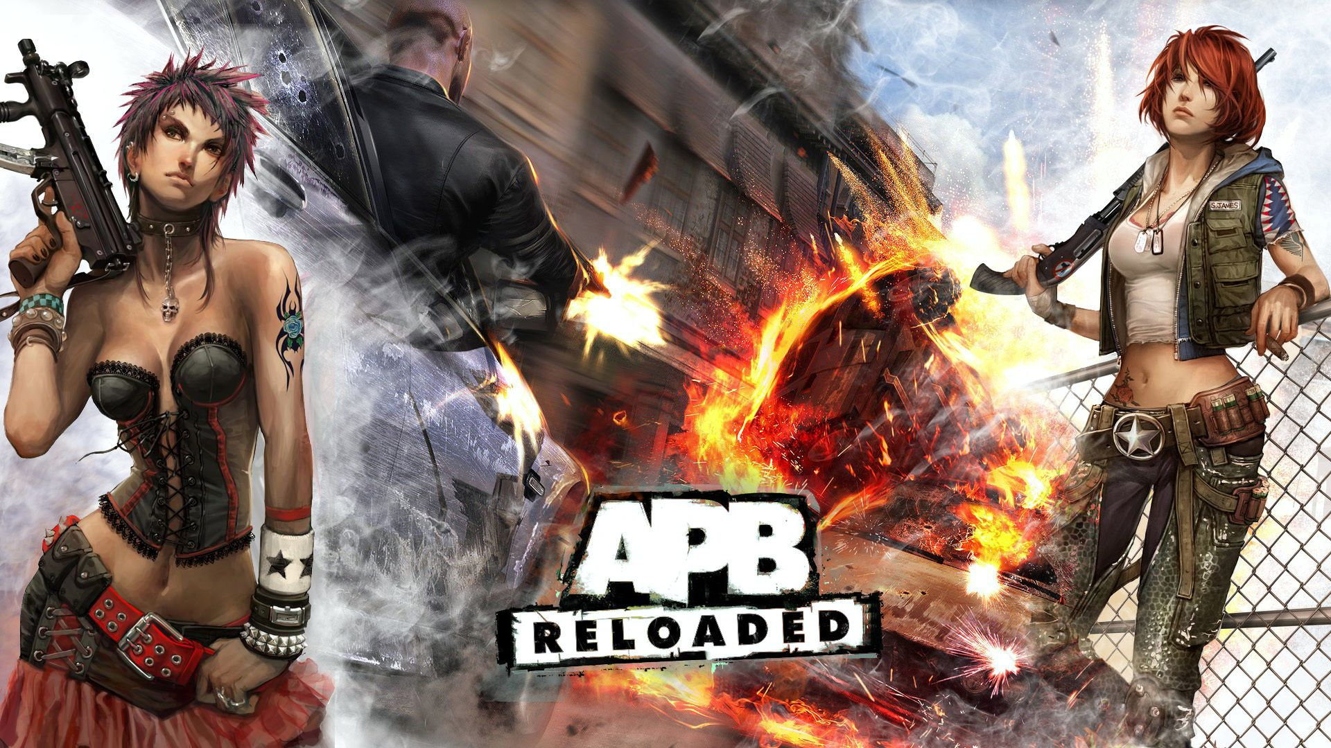 Nice Images Collection: APB: All Points Bulletin Desktop Wallpapers