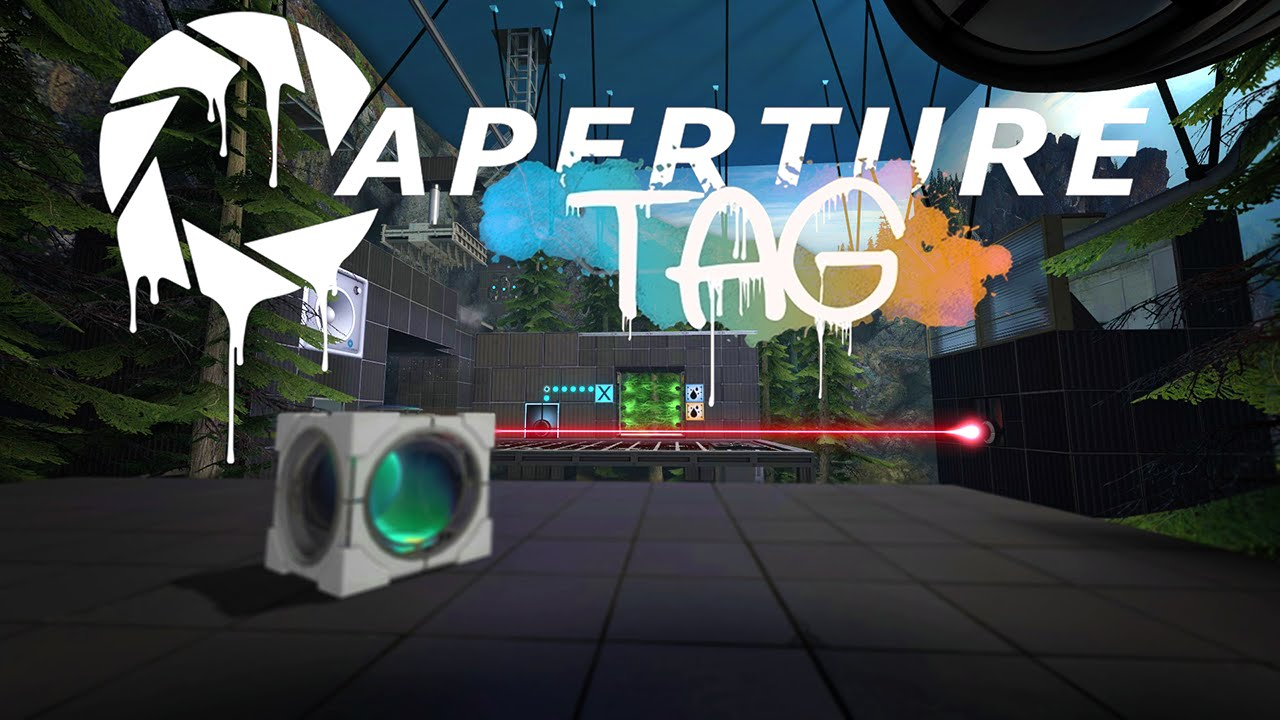 HQ Aperture Tag: The Paint Gun Testing Initiative Wallpapers   File 134.45Kb