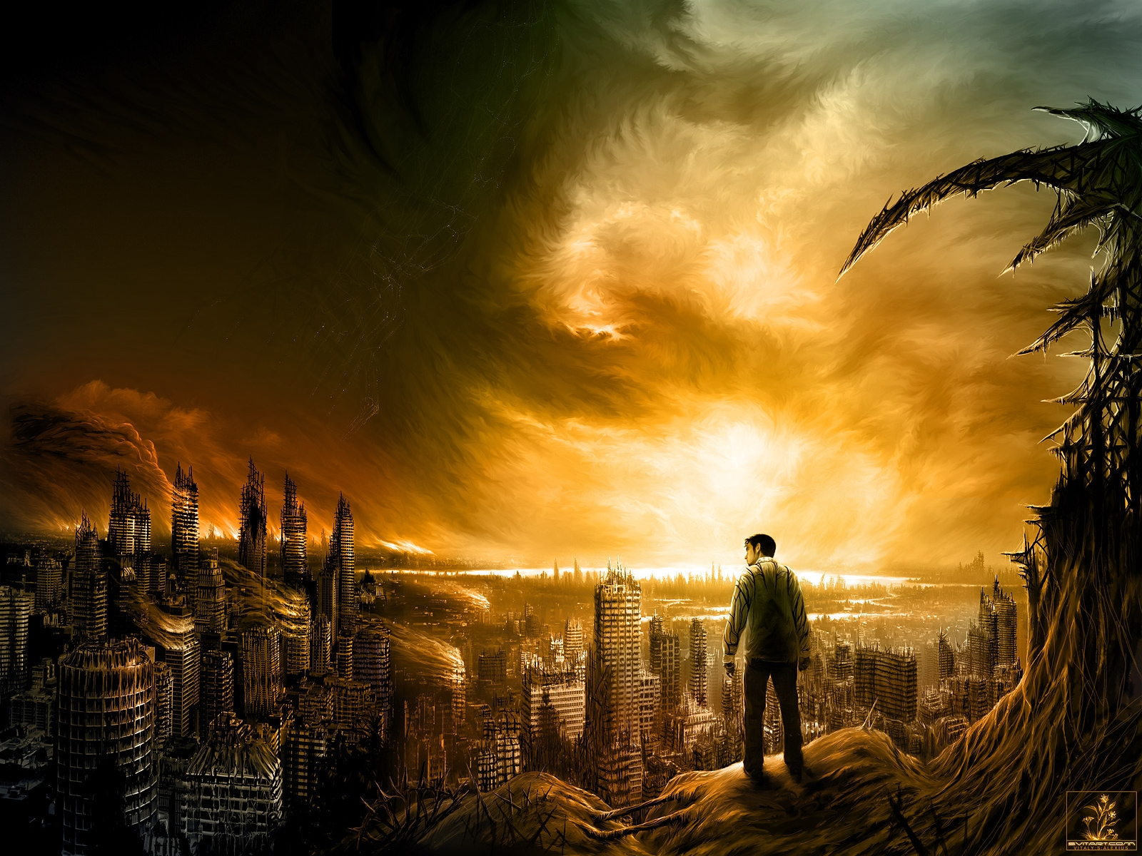 Apocalypse Backgrounds on Wallpapers Vista