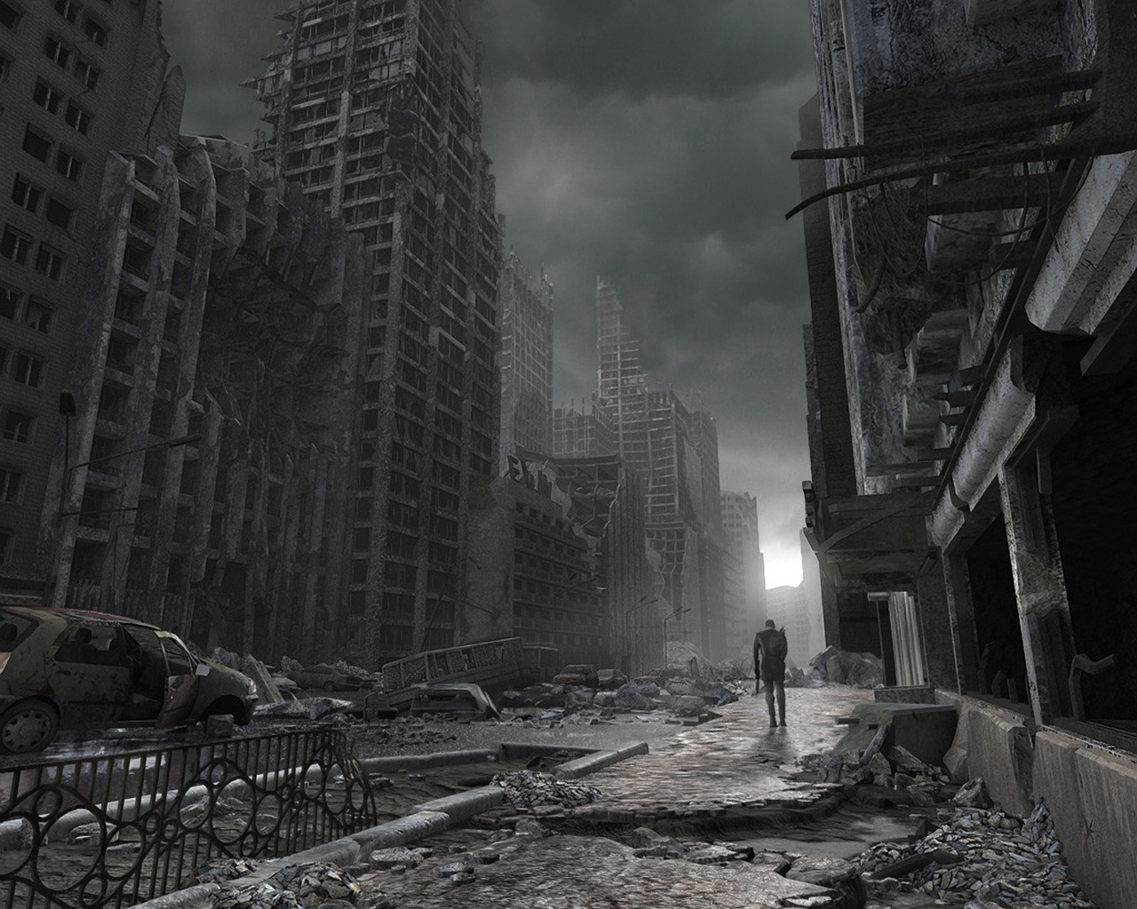 Nice Images Collection: Apocalyptic Desktop Wallpapers