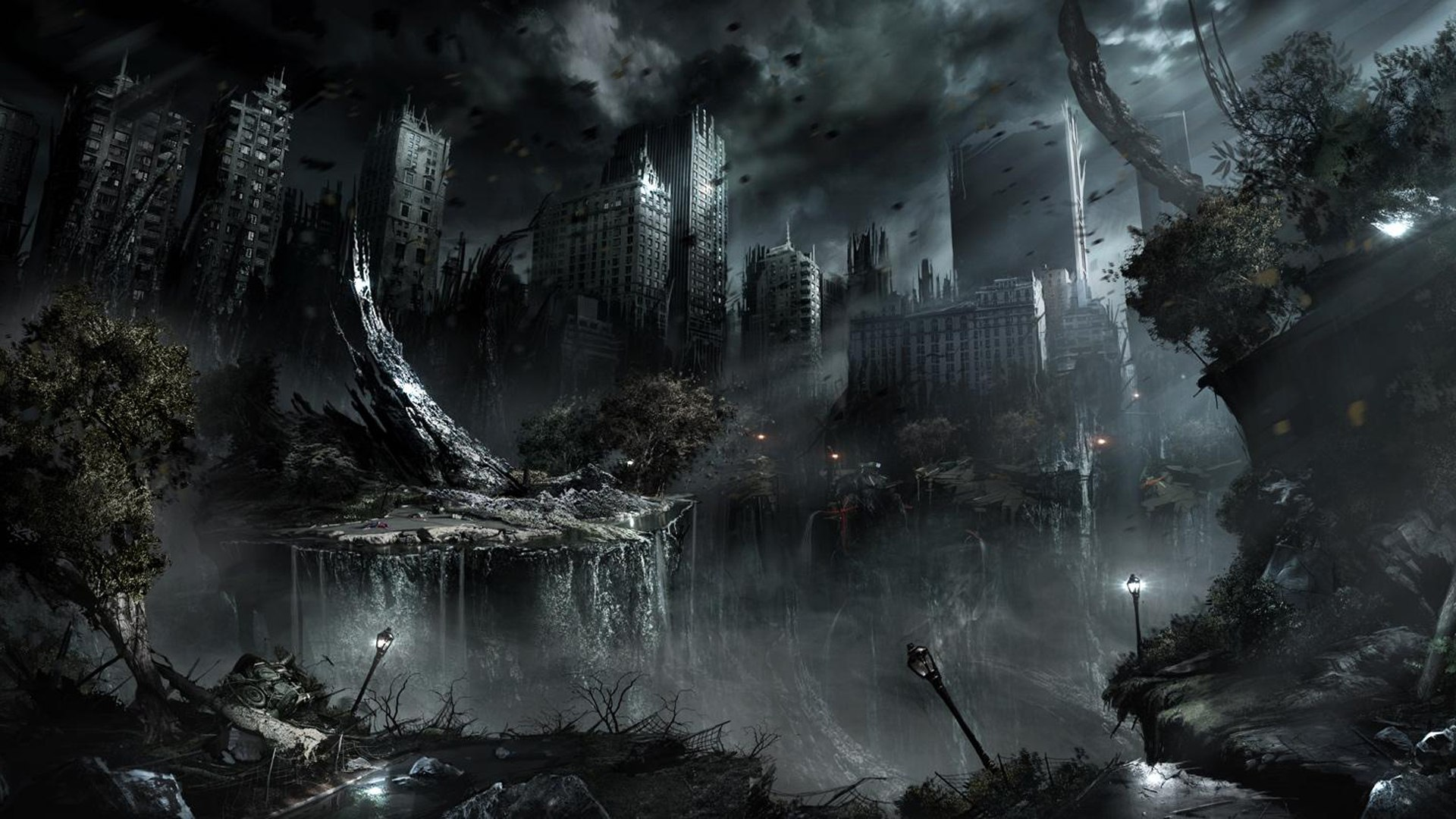 HD Quality Wallpaper | Collection: Sci Fi, 1920x1080 Apocalyptic