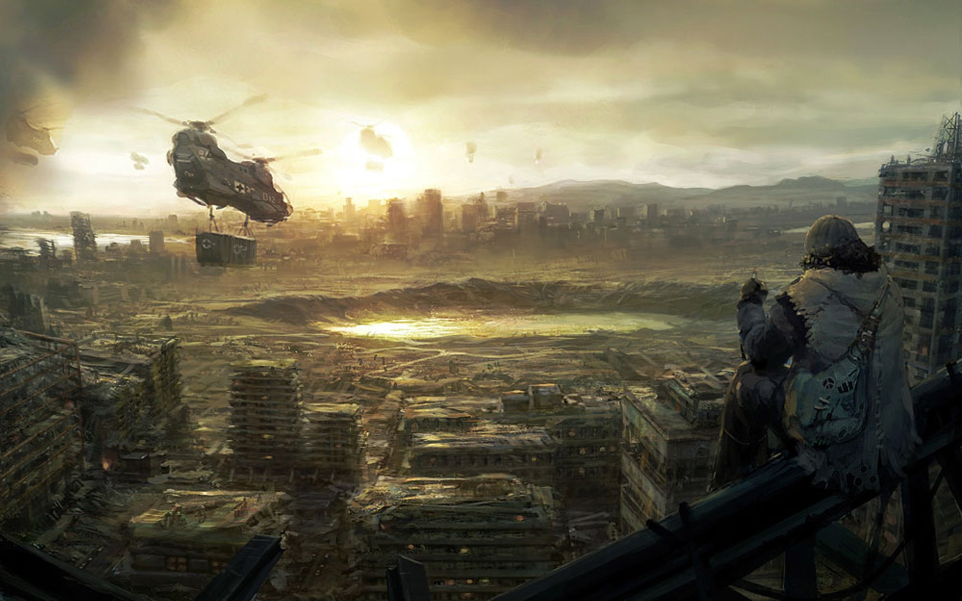 1920x1200 > Post Apocalyptic Wallpapers