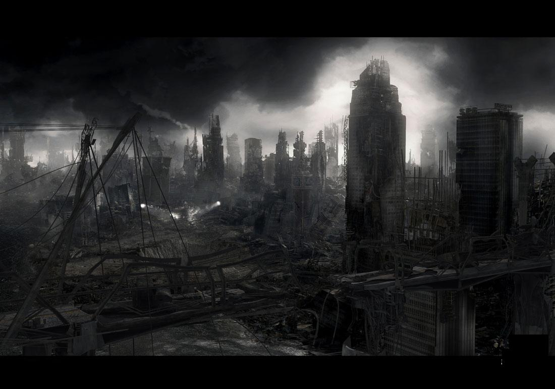 Apocalyptic Backgrounds, Compatible - PC, Mobile, Gadgets| 1100x771 px