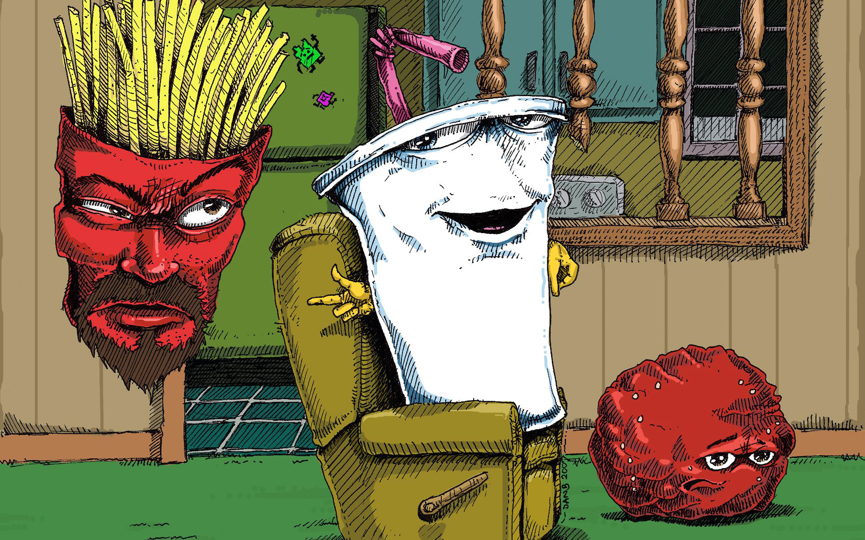 Nice Images Collection: Aqua Teen Hunger Force Desktop Wallpapers