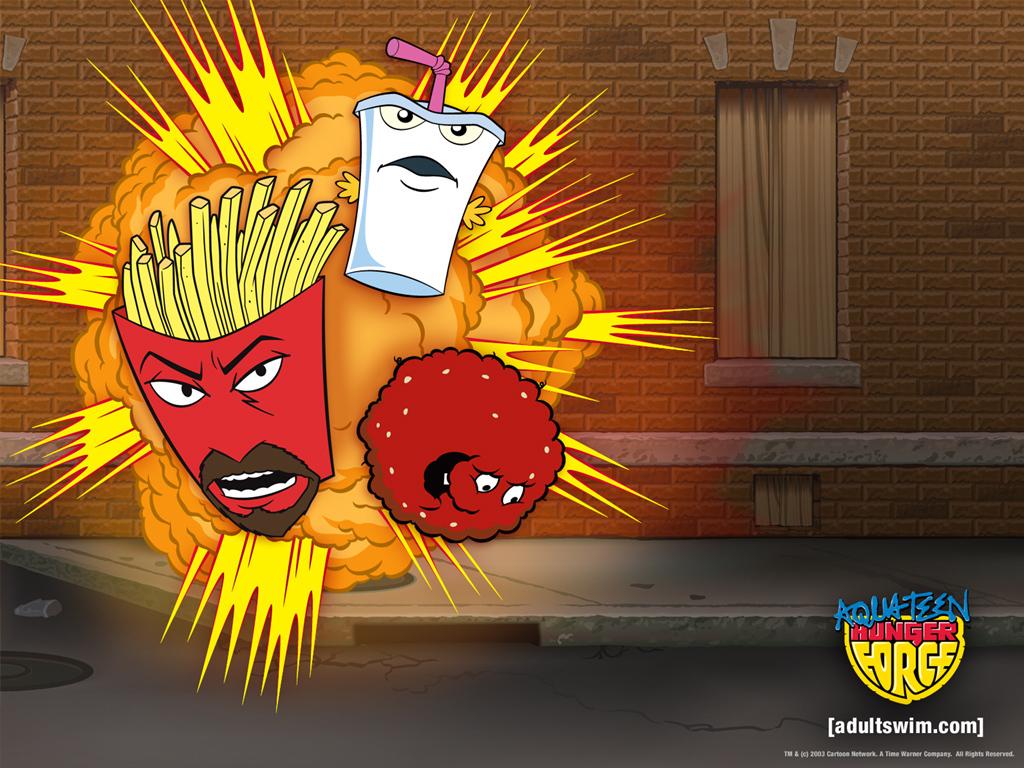 HD Quality Wallpaper | Collection: Cartoon, 1024x768 Aqua Teen Hunger Force