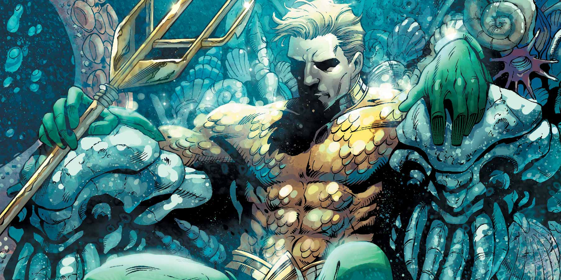 HD Quality Wallpaper | Collection: Cartoon, 1800x900 Aquaman