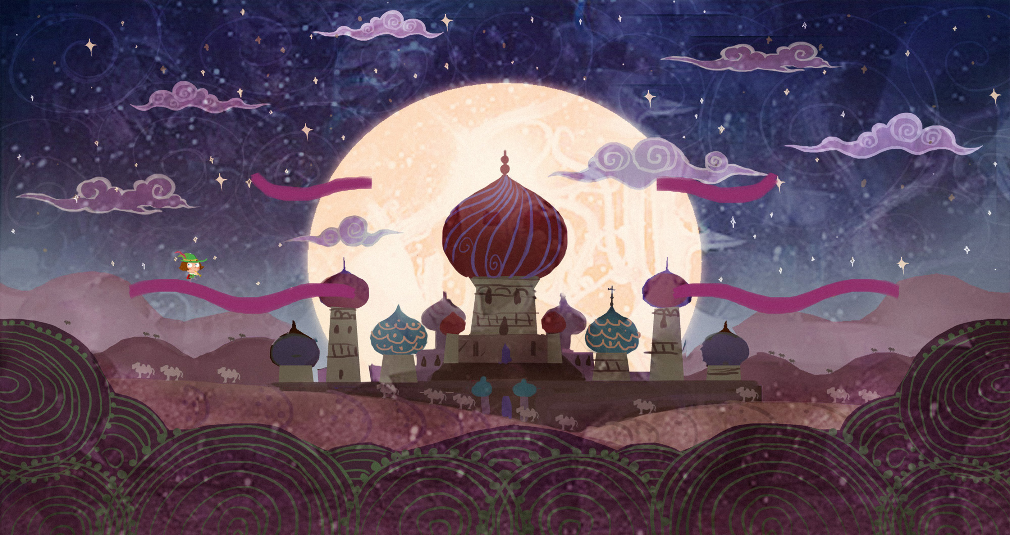 Nice Images Collection: Arabien Nights Desktop Wallpapers