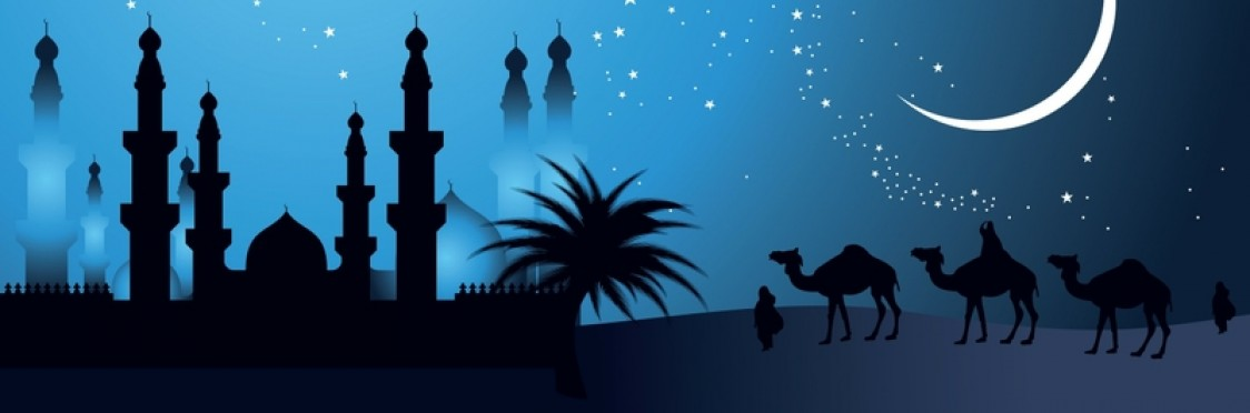 Arabien Nights Backgrounds, Compatible - PC, Mobile, Gadgets| 1124x372 px