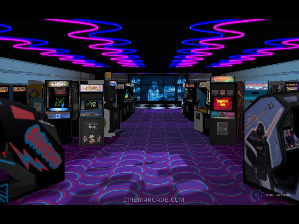 Nice Images Collection: Arcade  Desktop Wallpapers