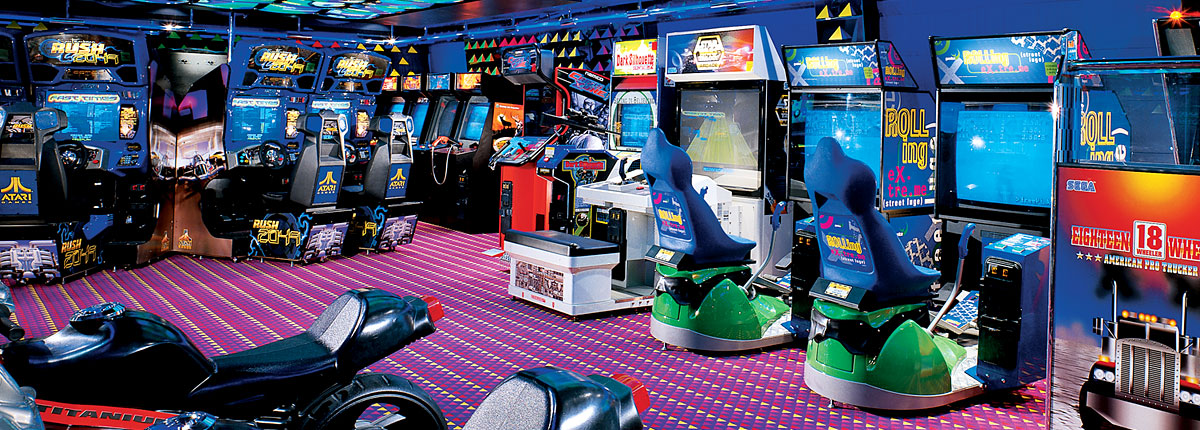 Arcade  Backgrounds, Compatible - PC, Mobile, Gadgets| 1200x430 px