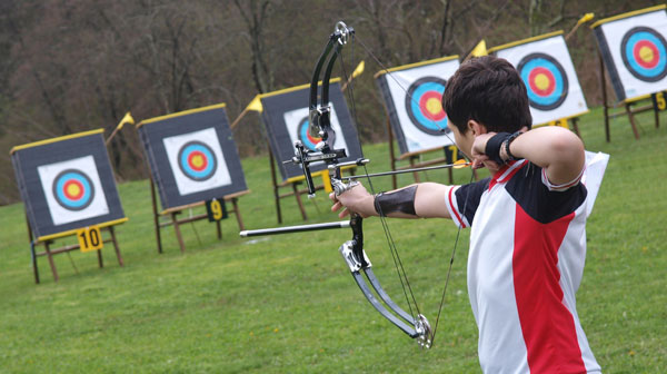 HD Quality Wallpaper | Collection: Sports, 600x336 Archery