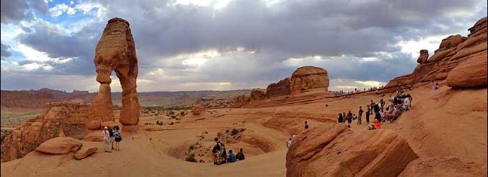 Nice wallpapers Arches National Park 700x254px