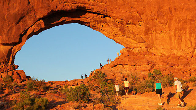 High Resolution Wallpaper | Arches National Park 640x360 px