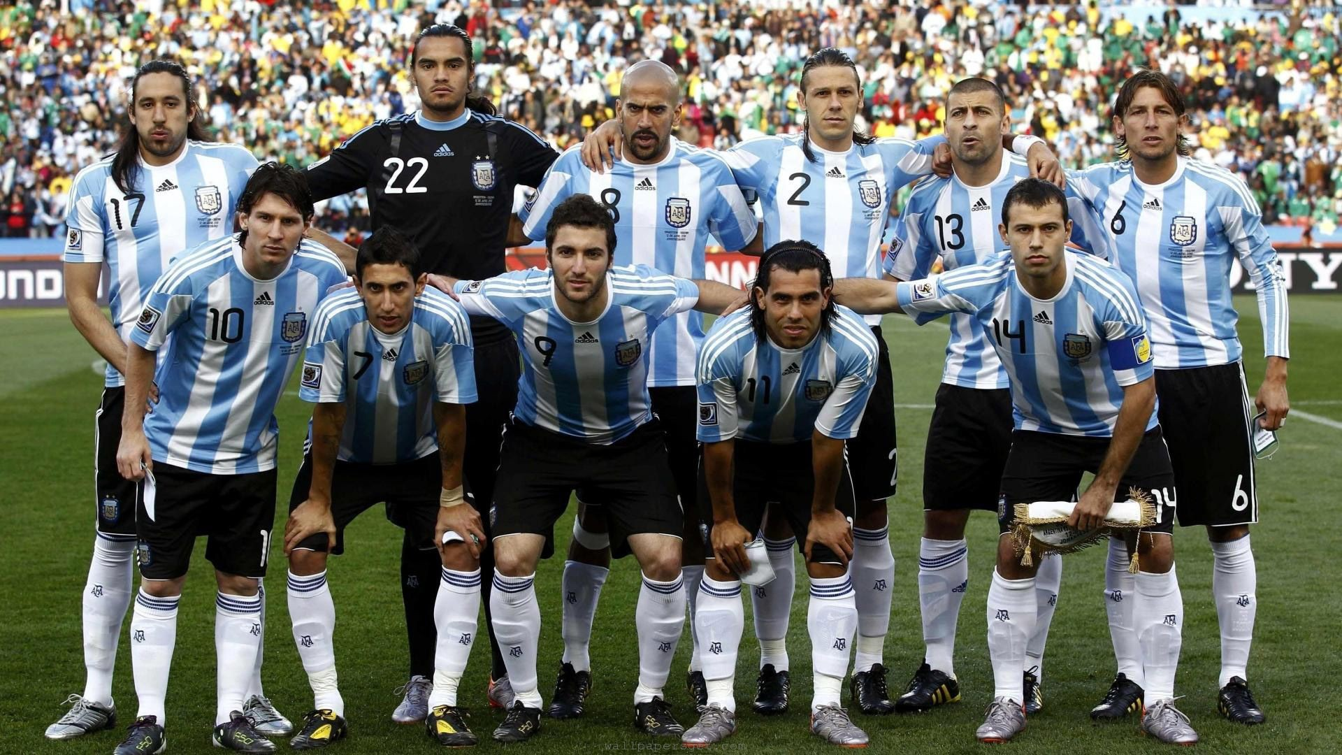 Argentina National Football Team Backgrounds, Compatible - PC, Mobile, Gadgets| 1920x1080 px
