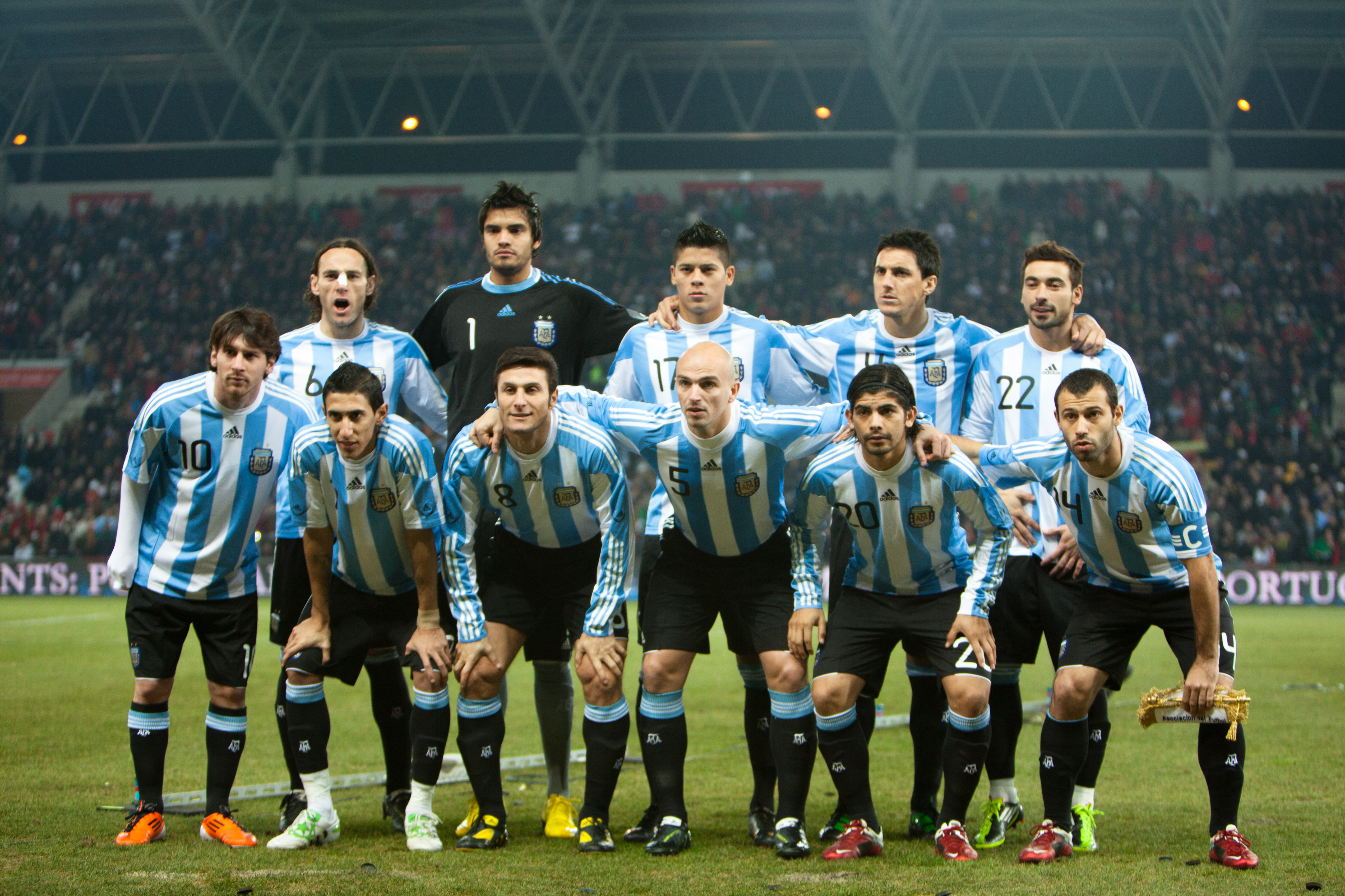 Nice Images Collection: Argentina National Football Team Desktop Wallpapers