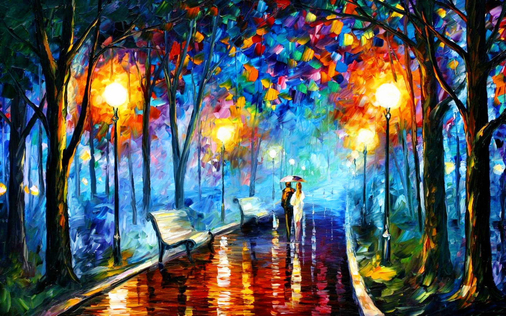 Art Backgrounds on Wallpapers Vista