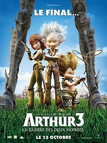 Arthur 3: The War Of The Two Worlds Backgrounds, Compatible - PC, Mobile, Gadgets| 220x293 px