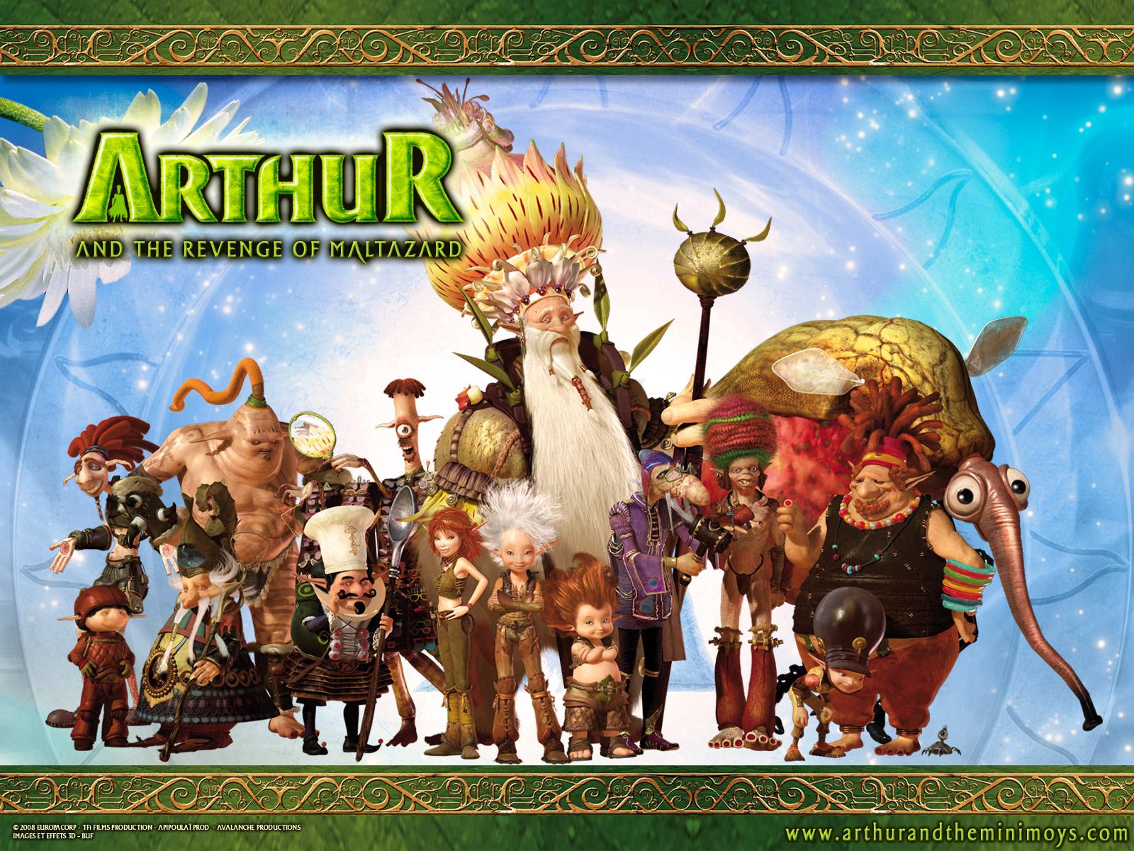 Arthur And The Revenge Of Maltazard Backgrounds on Wallpapers Vista