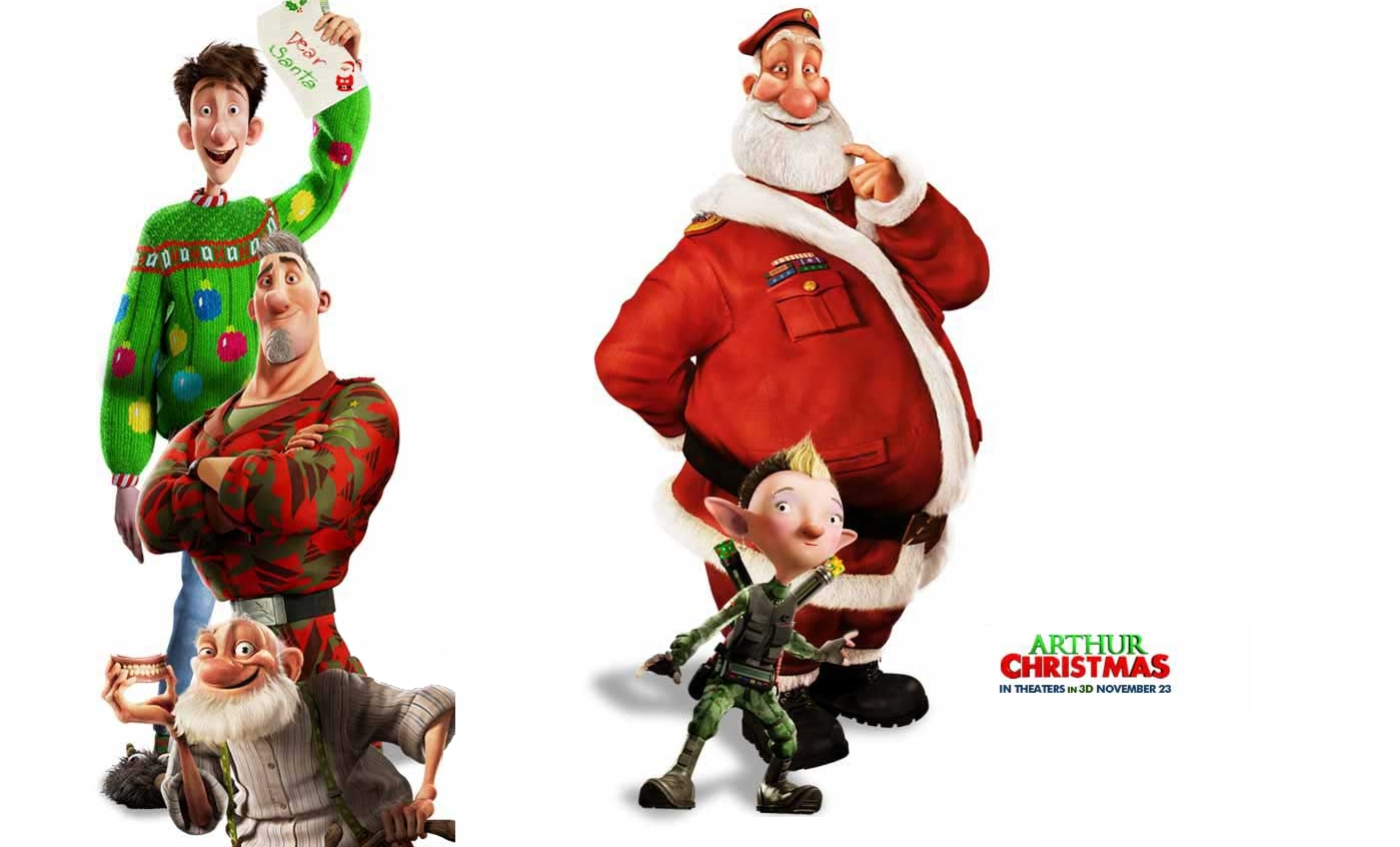 HD Quality Wallpaper   Collection: Movie, 1399x846 Arthur Christmas