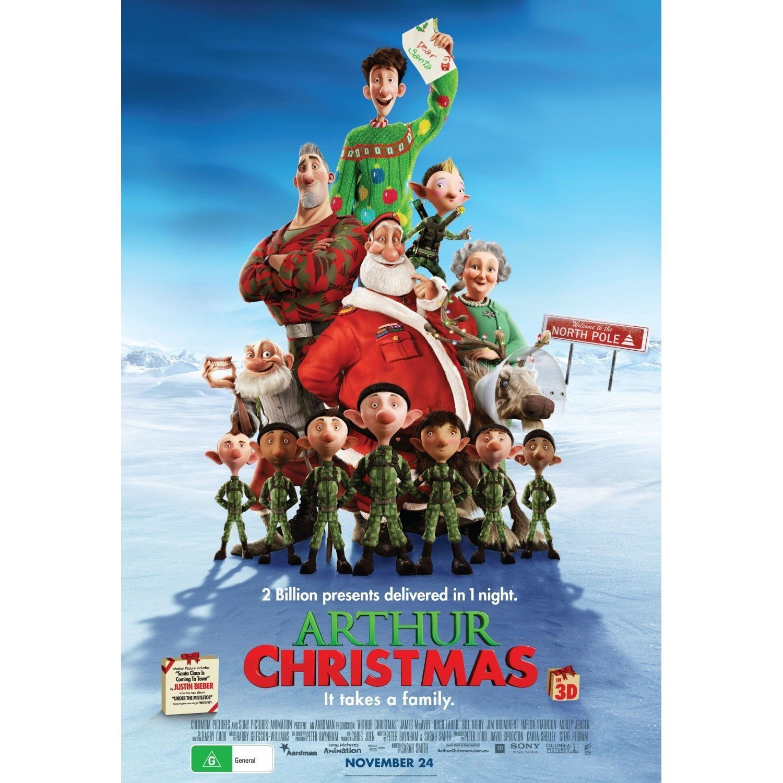 Arthur Christmas Pics, Movie Collection
