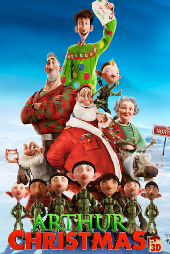 HD Quality Wallpaper   Collection: Movie, 350x522 Arthur Christmas