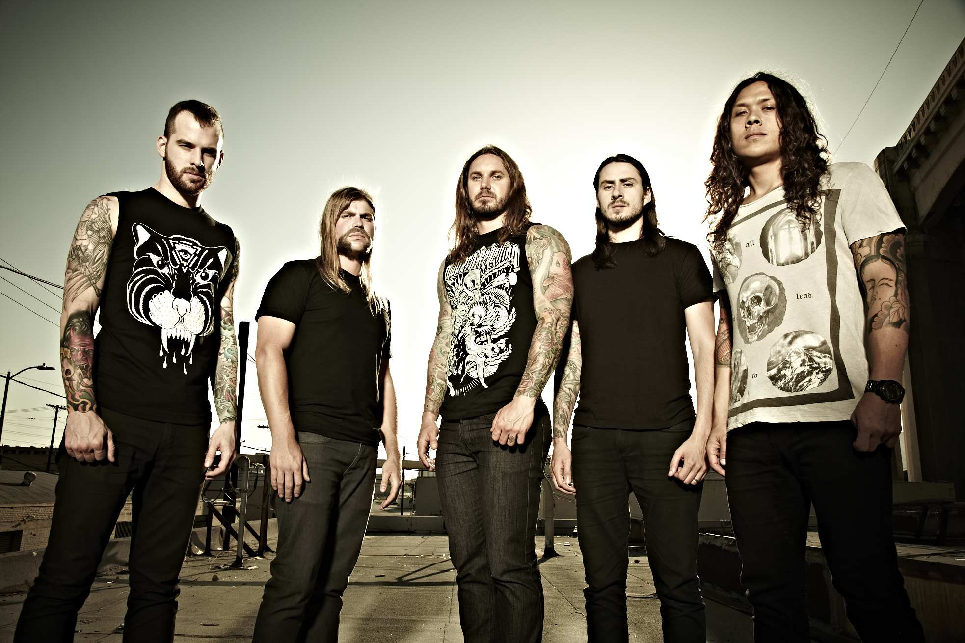 As I Lay Dying Wallpapers Music Hq As I Lay Dying Pictures 4k