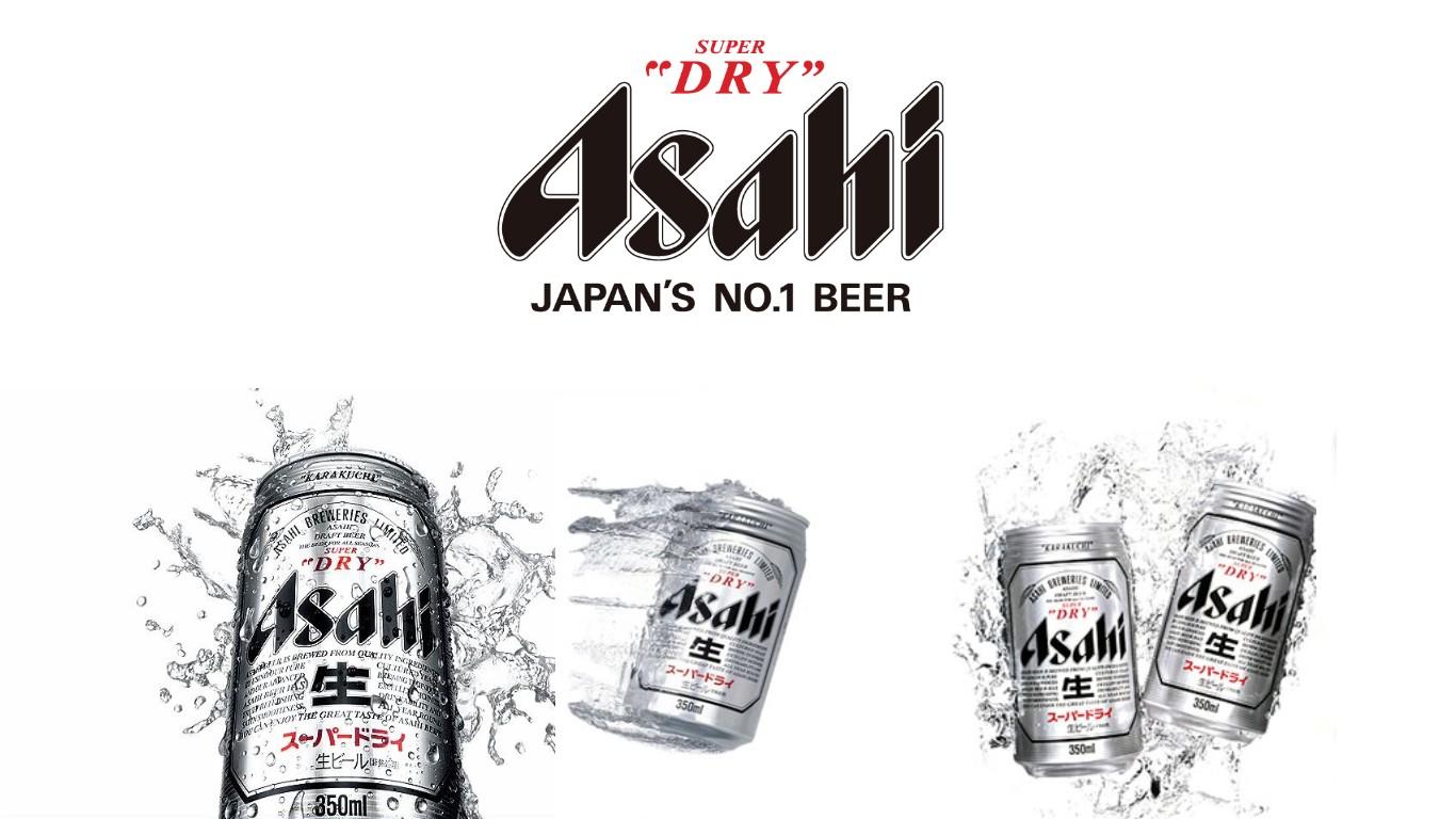 HD Quality Wallpaper   Collection: Food, 1366x768 Asahi Beer