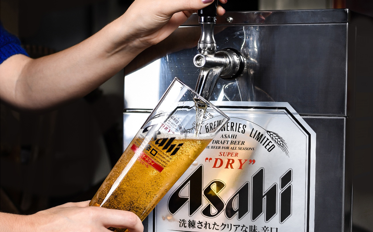 Images of Asahi Beer   1220x760