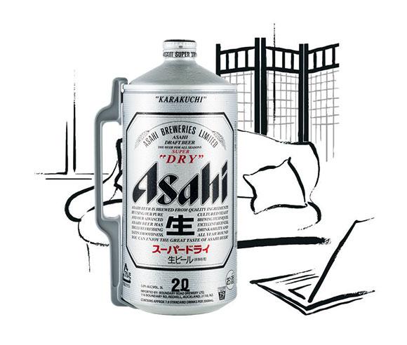 HQ Asahi Beer Wallpapers   File 46.58Kb