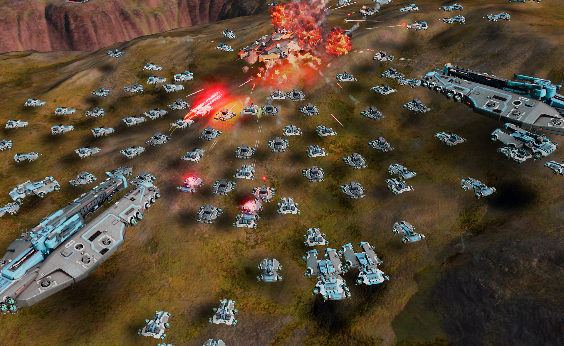 Amazing Ashes Of The Singularity Pictures & Backgrounds