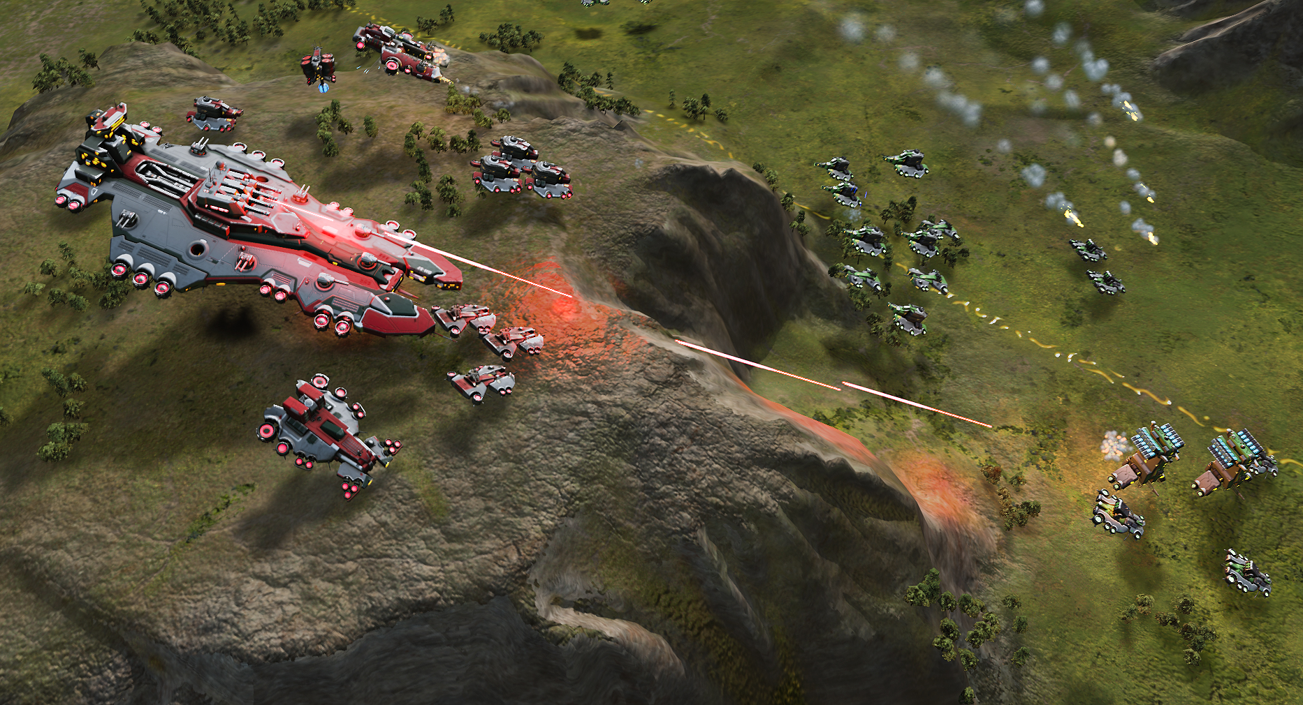 Nice wallpapers Ashes Of The Singularity 1865x1010px
