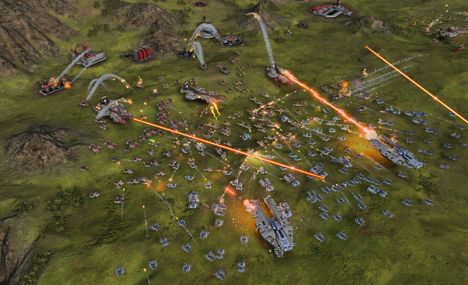 HD Quality Wallpaper   Collection: Video Game, 1532x933 Ashes Of The Singularity