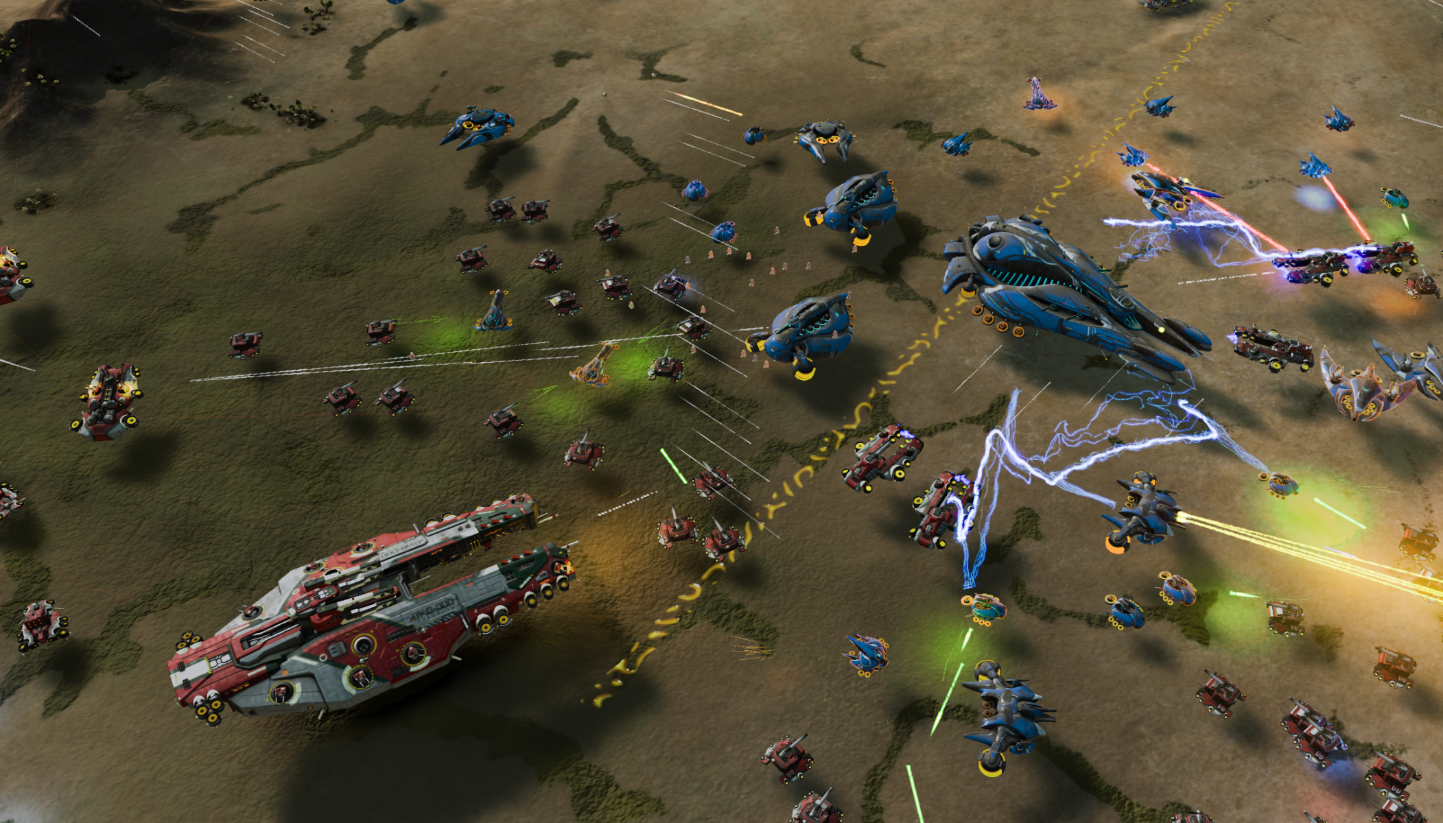 Ashes Of The Singularity Backgrounds, Compatible - PC, Mobile, Gadgets  2103x1200 px