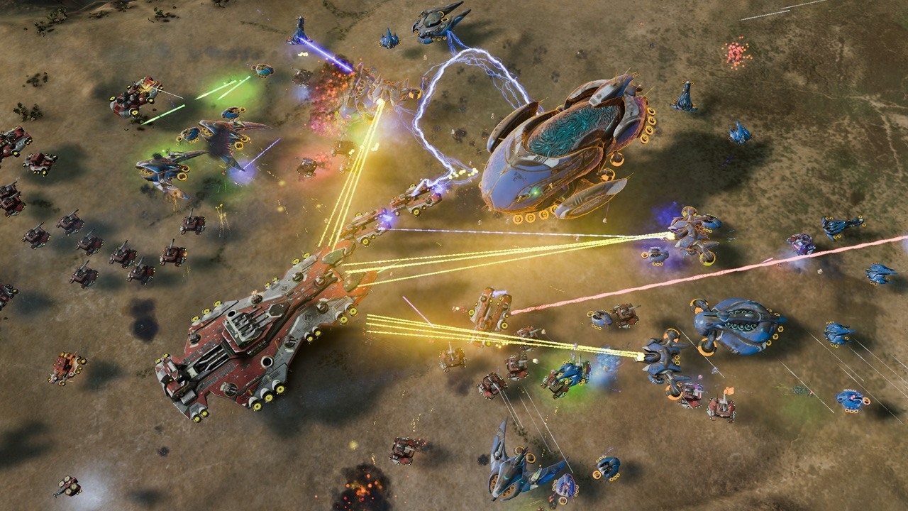 Nice Images Collection: Ashes Of The Singularity Desktop Wallpapers