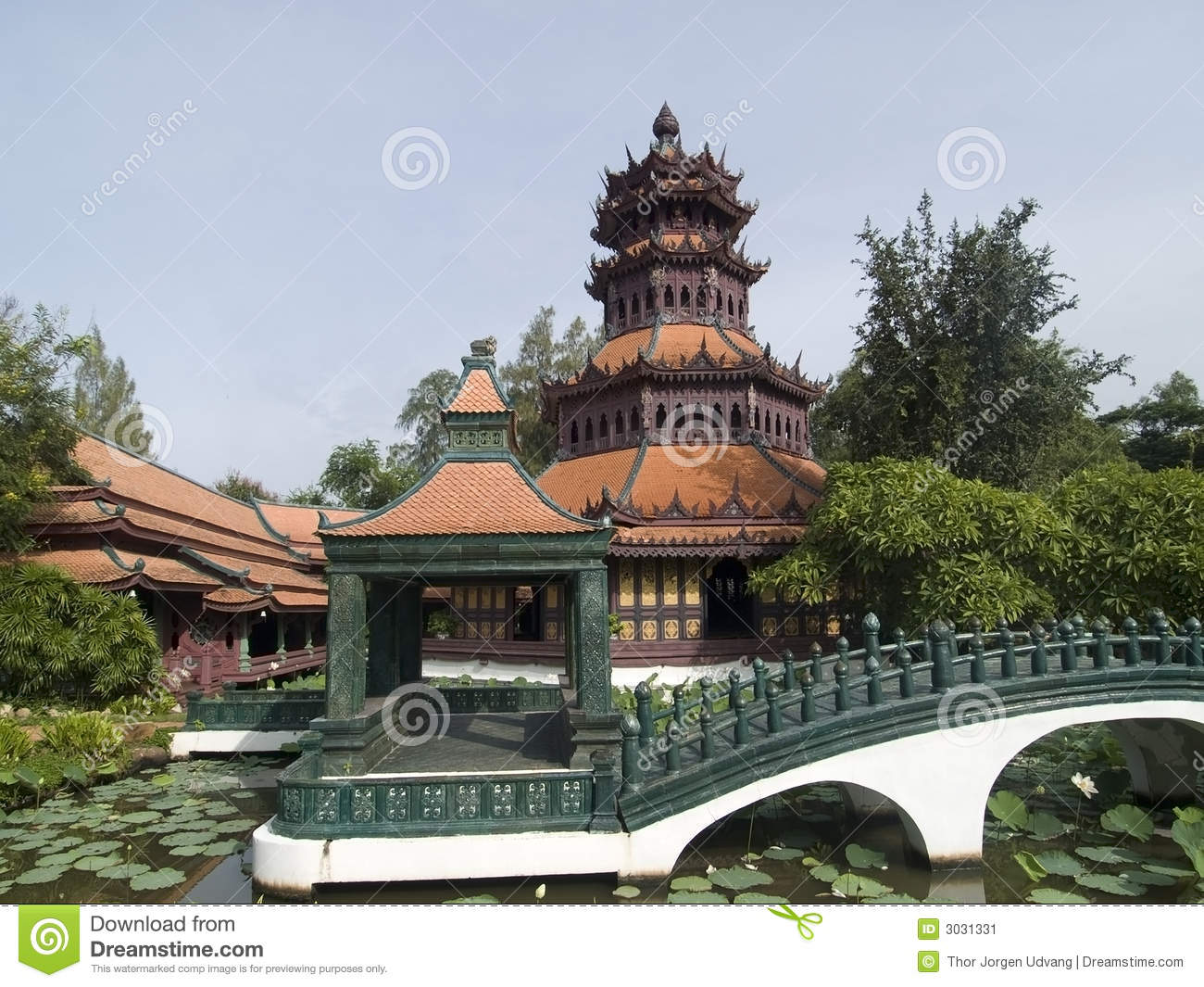Nice Images Collection: Asian Architecture Desktop Wallpapers