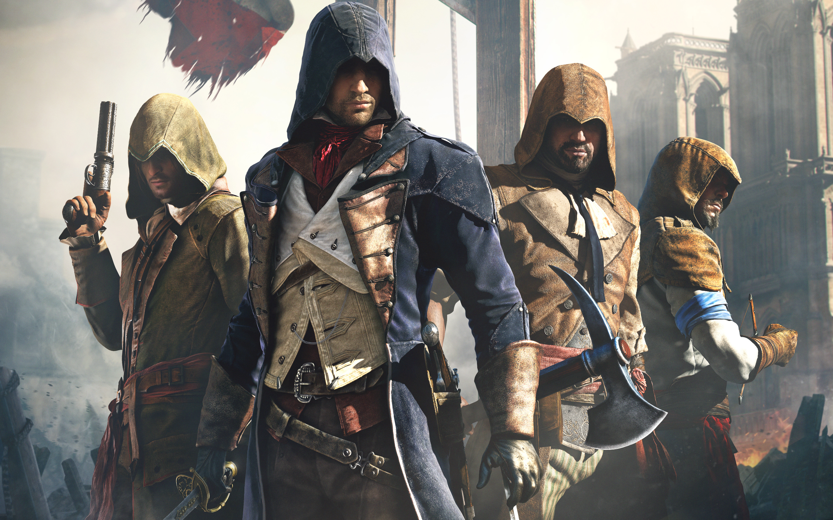 Assassin S Creed Unity Wallpapers Video Game Hq Assassin S Creed